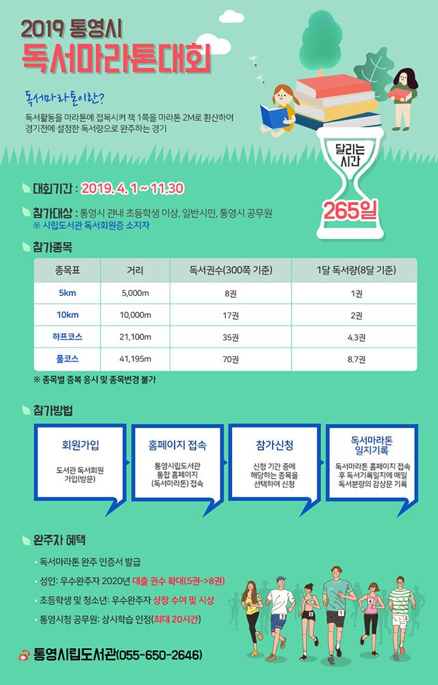 2019년 통영시 독서마라톤 대회 개최.jpg