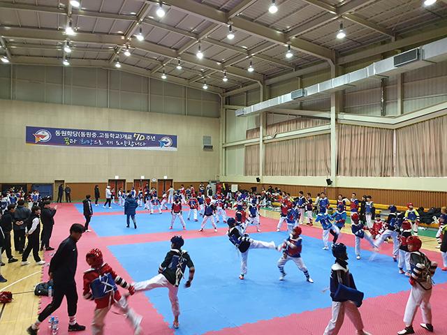 동계전지훈련의 최적지 통영  전국에서 모이다-전지훈련팀 훈련3.jpg